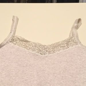 Tommy Hilfiger Oatmeal Lace Camisole
